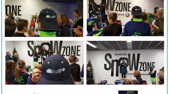 Vozip.com De La Mano De Zimas Esquí Club Impulsando El Deporte Base